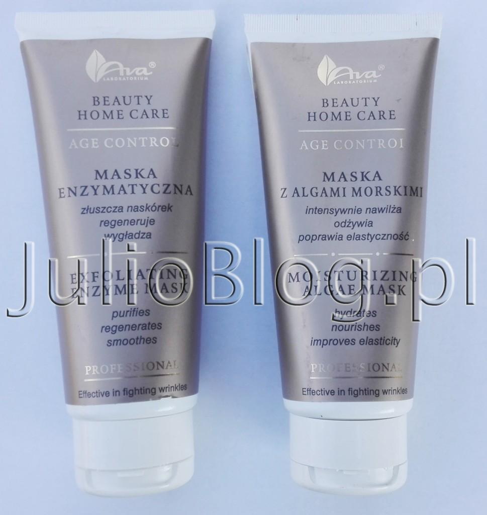 julioblog.pl-AVA-Beauty-Home-Care-age-control-professional-maska-enzymatyczna-złószcza-regeneruje-wygładza-maska-z-algami-morskimi-nawilża-odżywia-poprawia-elastyczność-skóry