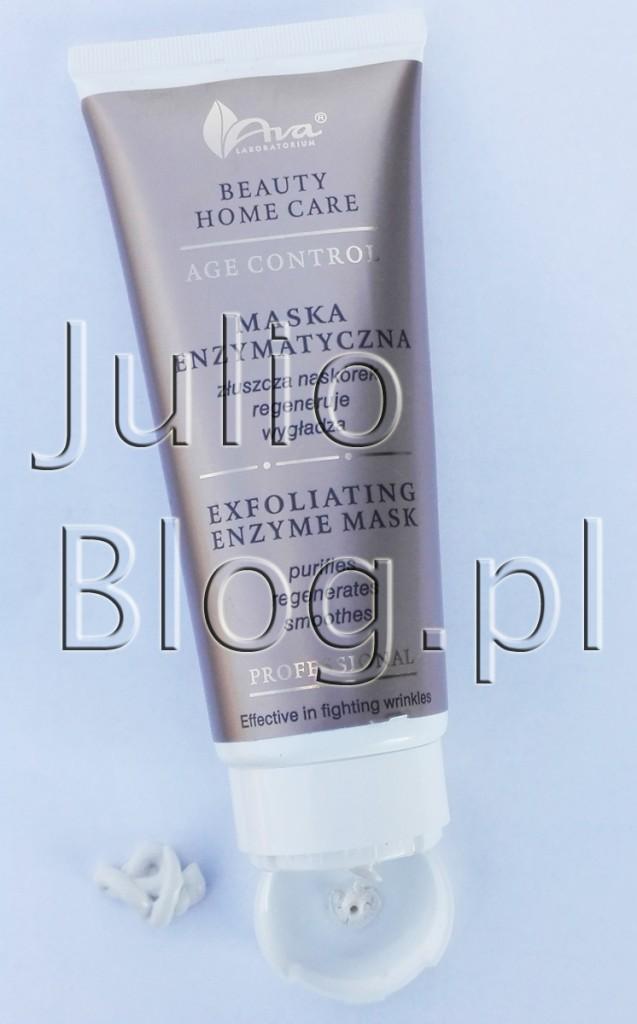 julioblog.pl-blog-julii-recenzje-kosmetyków-polskie-kosmetyki-AVA-Beauty-Home-Care-age-control-professional-maska-enzymatyczna-złószcza-regeneruje-wygładza-skórę