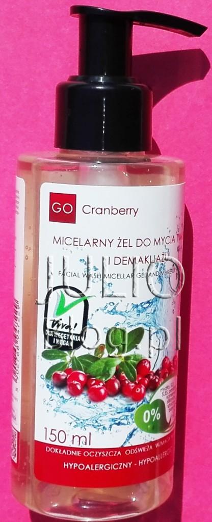 Micelarny-Żel-Do-Mycia-Twarzy-i-Demakijażu-GoCranberry-NOVA-Kosmetyki-150ML-19zł-Ekstrakt-z-owoców-żurawiny-substancje-myjące-pochodzenia-roślinnego