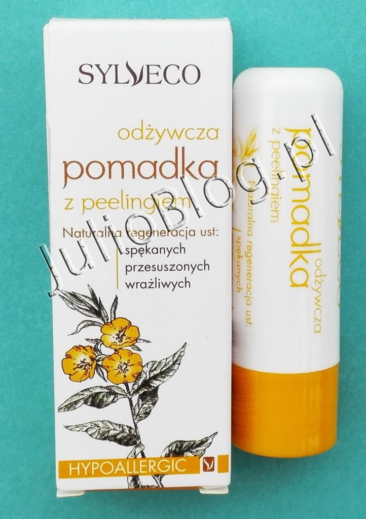 julioblog.pl-blog-julii-naturalna-pielęgnacja-recenzje-kosmetyków-naturalnych-naturalne-kosmetyki-Hypoalergiczna-odżywcza-pomadka-do-ust-z-peelingiem-Sylveco-peeling-do-ust