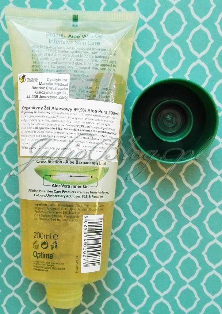 żel-aloesowy-ALOE-PURA-LABORATORIES-organiczny-żel-z-aloesu-bez-parabenów-bez-SLS-bez-dodatków-nieperfumowany-ALOES-JulioBlog.pl-blog-Julii-naturalne-kosmetyki-recenzje-oceny