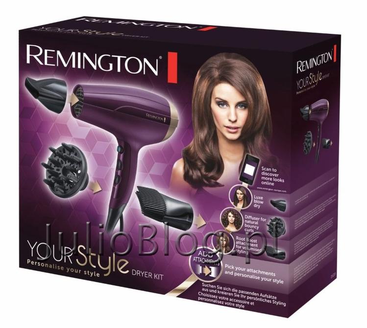 REMINGTON-Your-Style-D5219.-Suszarka-do-włosów-Remington-nowość-pudełko-suszarka-i-końcówki-do-stylizacji-fryzur-jonizacja-silnik-2300-W-regulowane-ustawienia-temperatury