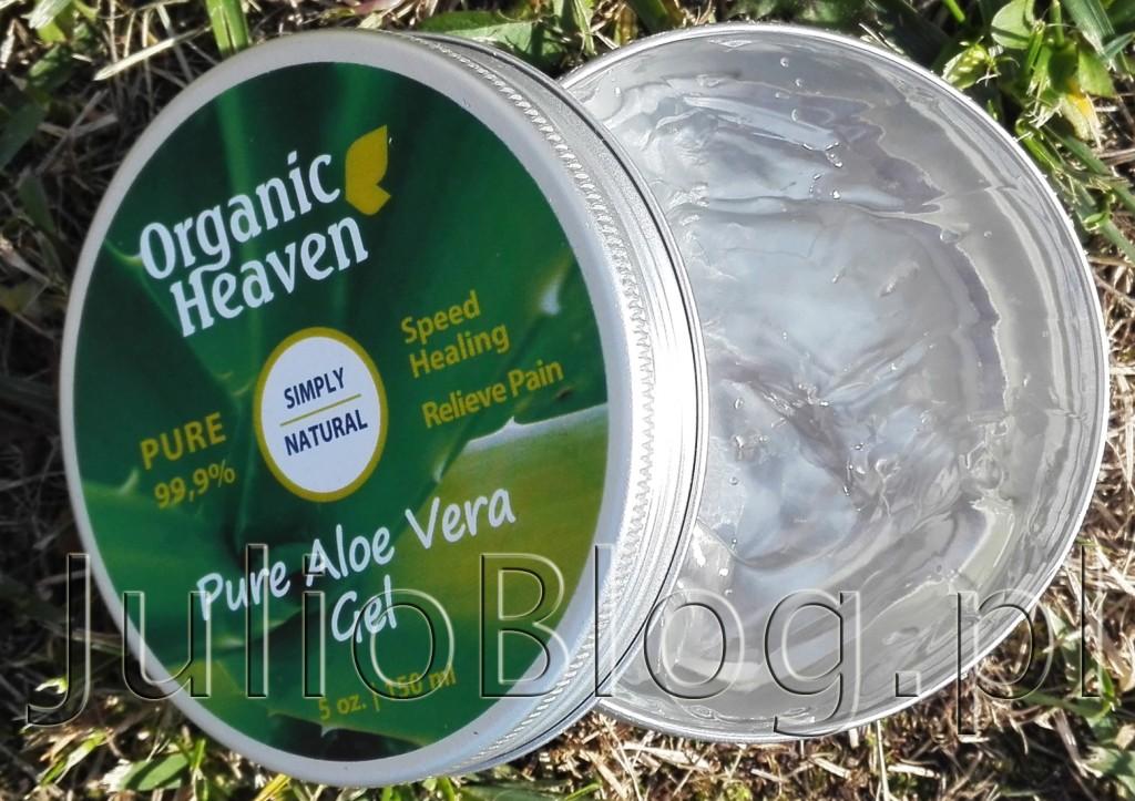 julioblog.pl-blog-julii-Żel-aloesowy-PURE-Aloe-Vera-Gel-100-Organic-Heaven-Aloe-Barbadiensis-Extract-jak-stosować-zastosowanie-sucha-skóra-problematyczna-włosy-wypadanie-włosów