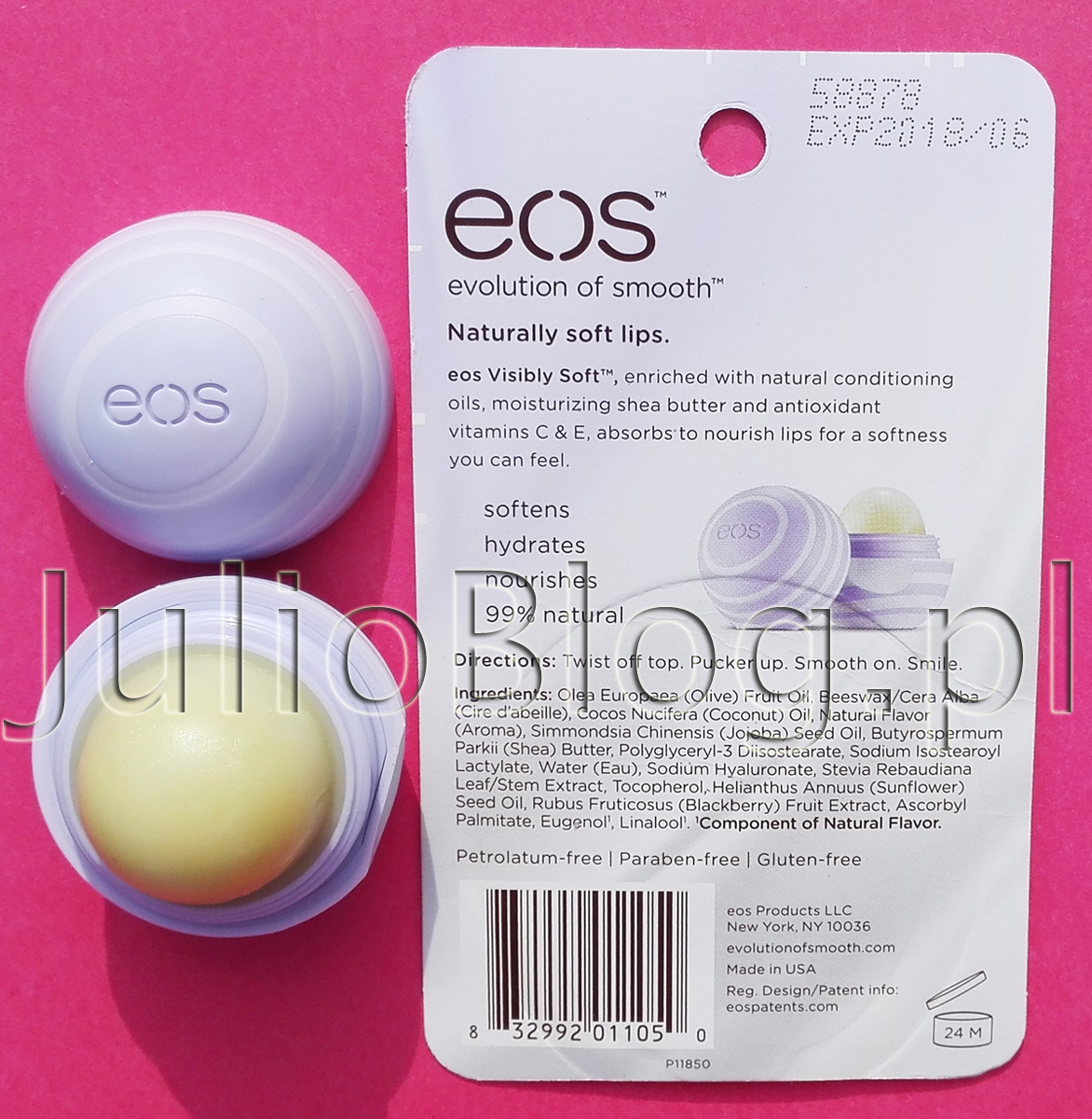 EOS Visibly Soft Blackberry Nectar