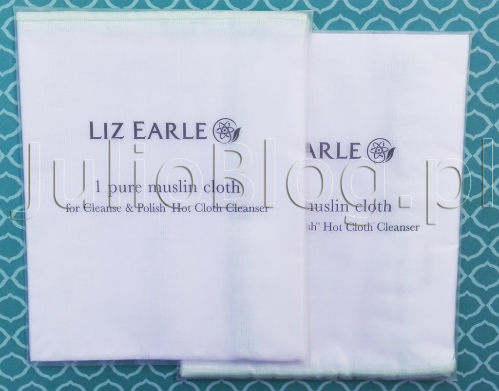 julioblog.pl-blog-julii-muślinowa-szmatka-do-demakijażu-oczyszczania-twarzy-liz-earle-pure-muslin-cloth-ściereczka-z-muślnu-for-cleanse-polish-hot-cloth-cleanser-zapakowana