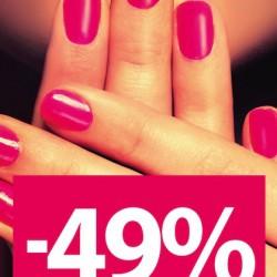Listopadowa promocja 2015: -49% w Rossmann. -49% w Rossmann na wszystkie: szminki, błyszczyki, kredki do ust, lakiery i produkty do pielęgnacji paznokci. Promocja trwa od 2 do 6 listopada 2015 lub do wyczerpania zapasów. -49% w Rossmann na wszystkie: szminki, błyszczyki, kredki do ust, lakiery i produkty do pielęgnacji paznokci. Promocja trwa od 2 do 6 listopada 2015 lub do wyczerpania zapasów. Wracając do promocji -49% w Rossman. -49% w Rossmann na wszystkie: szminki, błyszczyki, kredki do ust, lakiery i produkty do pielęgnacji paznokci. Promocja trwa od 2 do 6 listopada 2015 lub do wyczerpania zapasów.