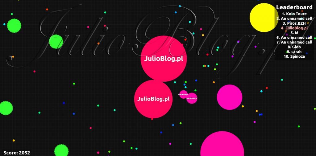 julioblog.pl-blog-julii-agario-gra-przeglądarkowa-gry-w-przeglądarce-agar.io-instrukcja-informacje-opinia-opis-działań-możliwości-gry
