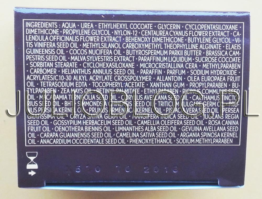julioblog.pl-blog-juli-krem-pod-oczy-riche-creme-yves-rocher-składniki-analiza-składu-skład-inci-ingredients-olejki-olejek-pszenicy-wiesiołka-awokado-arganowy-macadamia-jojoba-mango