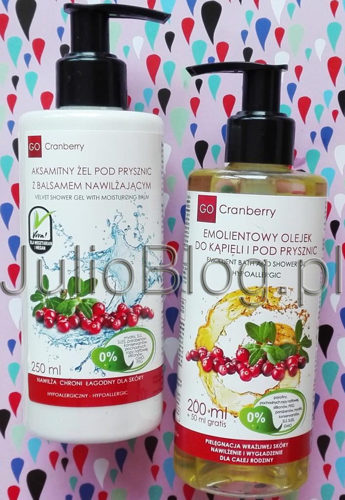 julioblog.pl-blog-julii-naturalne-kosmetyki-pielęgnacja-skóry-ciała-zimą-zimowa-na-mróz-do-kąpieli-pod-prysznic-nova-kosmetyki-go-cranberry-olejek-żel-balsam-sucha wrażliwa skóra