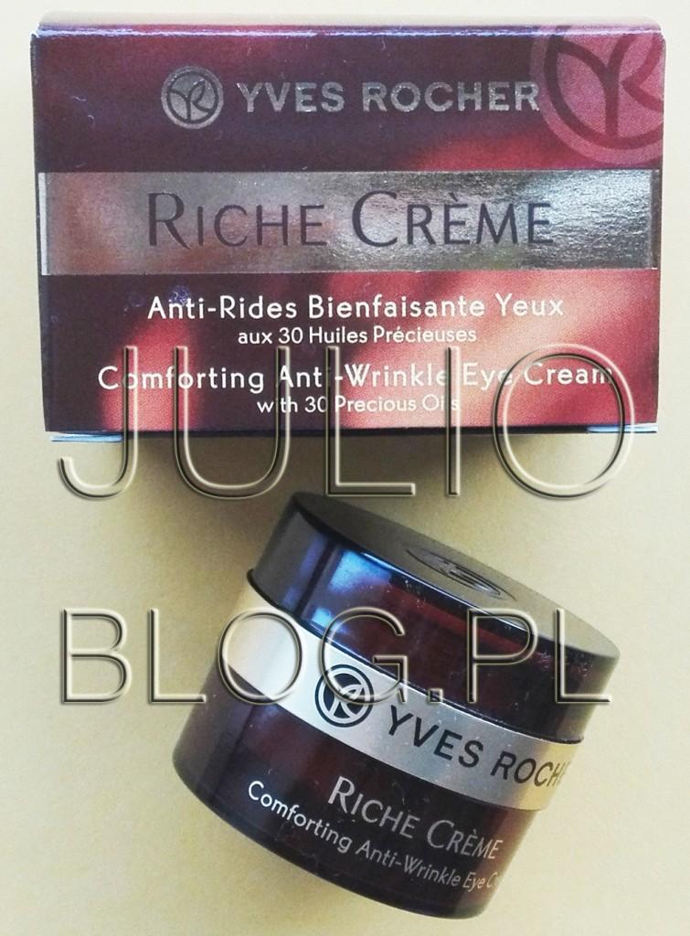julioblog.pl-blog-julii-recenzje-kosmetyków-pielęgnacja-skóry-pod-oczami-przeciwzmarszczkowy-krem-pod-oczy-riche-creme-yves-rocher-92zł-15ml-opinia-recenzja-czy-warto-działanie-ocena