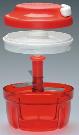 Rozdrabniacz-Tupperware®-D91-TUPPERWARE-rozdrabniacz-0,3l-siekanie-ziół-rozdrabnianie-owoców-warzyw-orzechów-szybkie-szatkowanie-ręczny-mikser-manualny