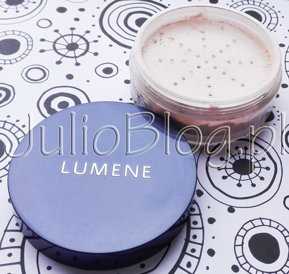 lumene sheer finish loose powder