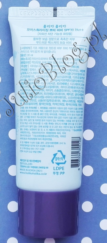 jazjatyckie-kremy-bb-kosmetyki-z-Azji-koreańskie-Nawilżający-krem-BB-Moisturizing-Petit-BB-Cream,SPF-30PA++-Holika-Holika-opinia-recenzja-blog-Julii-JulioBlog.pl-skład-działanie