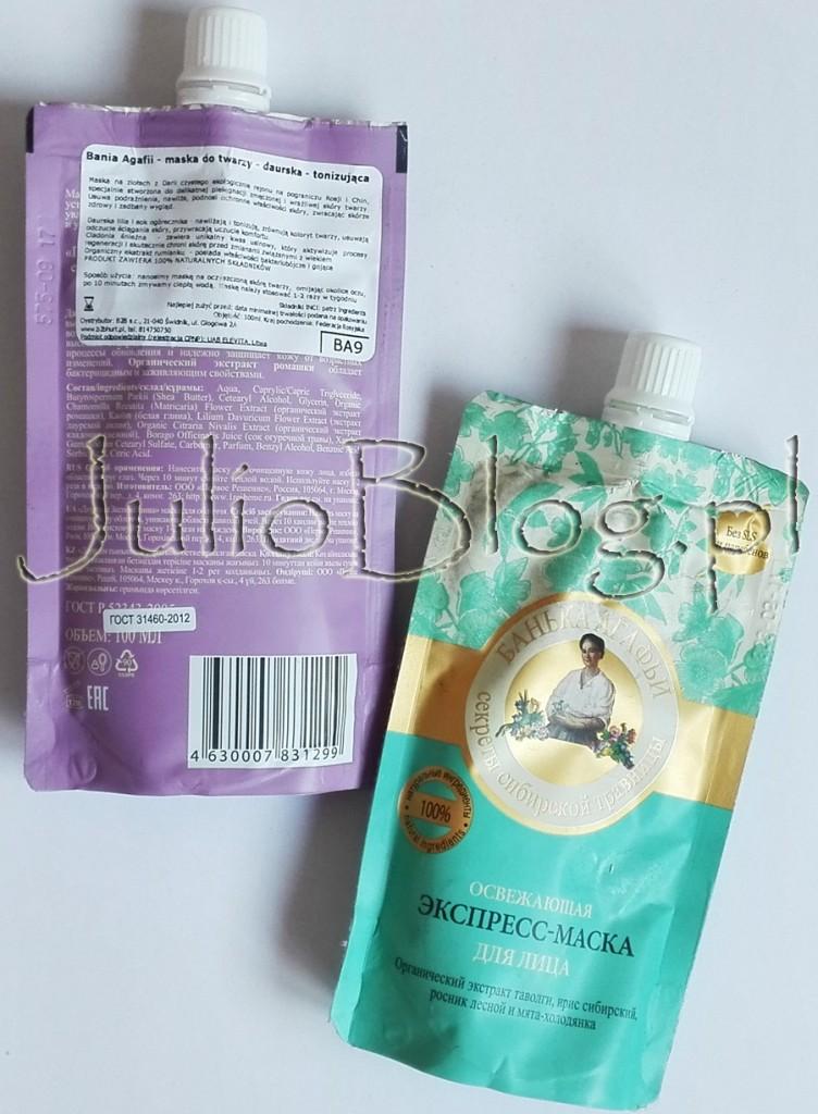 julioblog.pl-blog-julii-Bania-Agafi-maska-do-twarzy-daurska--tonizująca-daurska-lilia-ogórecznik-cladonia-śnieżna-rumianek-maseczka-opinia-blogerki-ocena-informacje-skład-składniki-działanie