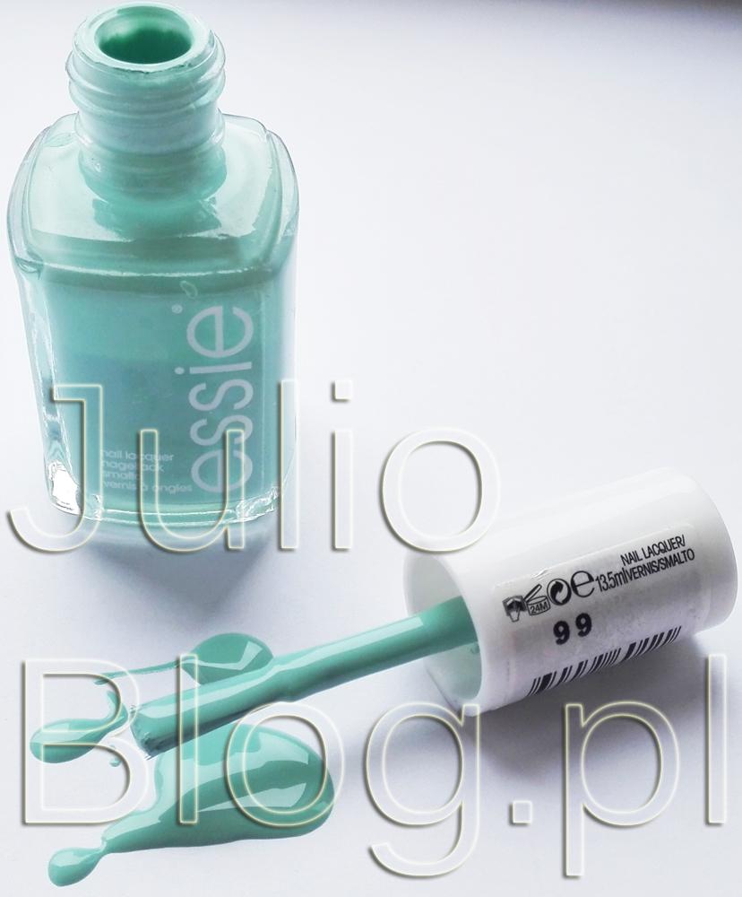 JulioBlog.pl-blog-Julli-recenzje-kosmetyków-opinie-lakier-do-paznokci-essie-mint-candy-apple-essie-99-37,90zł-13,5ml-miętowy-odcień-essie-opinia-blog-recenzja-cena-działanie-kolor-swatch