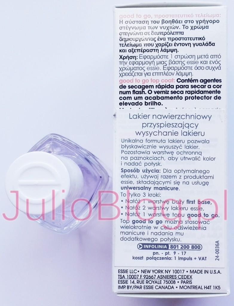 julioblog.pl-blog-Julii-essie-lakier-nawierzchniowy-przyspieszający-wysychanie-lakieru-wyszuszacz-lakieru-ESSIE-good-to-go-top-coat-rapid-shine-13,5ml-salon-performance-wersja-profesjonalna
