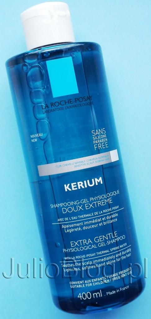 Ekstremalnie-delikatny-szampon-KERIUM-La-Roche-Posay-JulioBlog.pl-blog-Julii-opinia-recenzja-bardzo-łagodny-szampon-do-włosów-z-apteki-KERIUM-SZAMPON-LA-ROCHE-POSAY-400ml