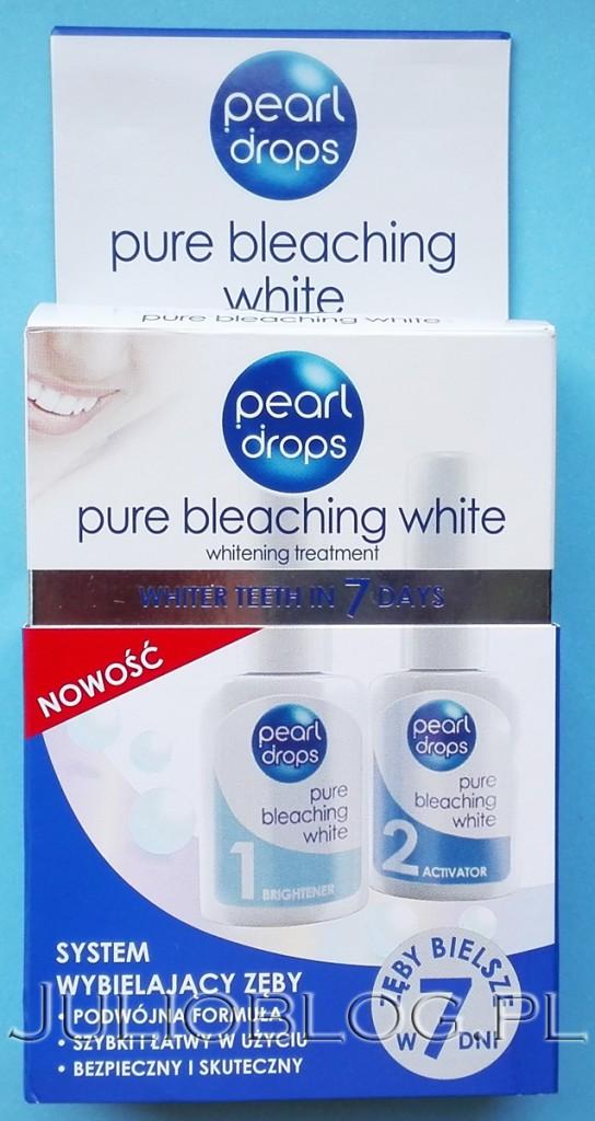 wybielanie-zębów-w-domu-Zestaw-wybielając-Pearl-Drop-Pure-Bleaching-White-cena-79,99zł-julioblog.pl-blog-Julii-recenzja-zestawu-wybielającego-sposoby-wybielania-w-domu-domowe-środki