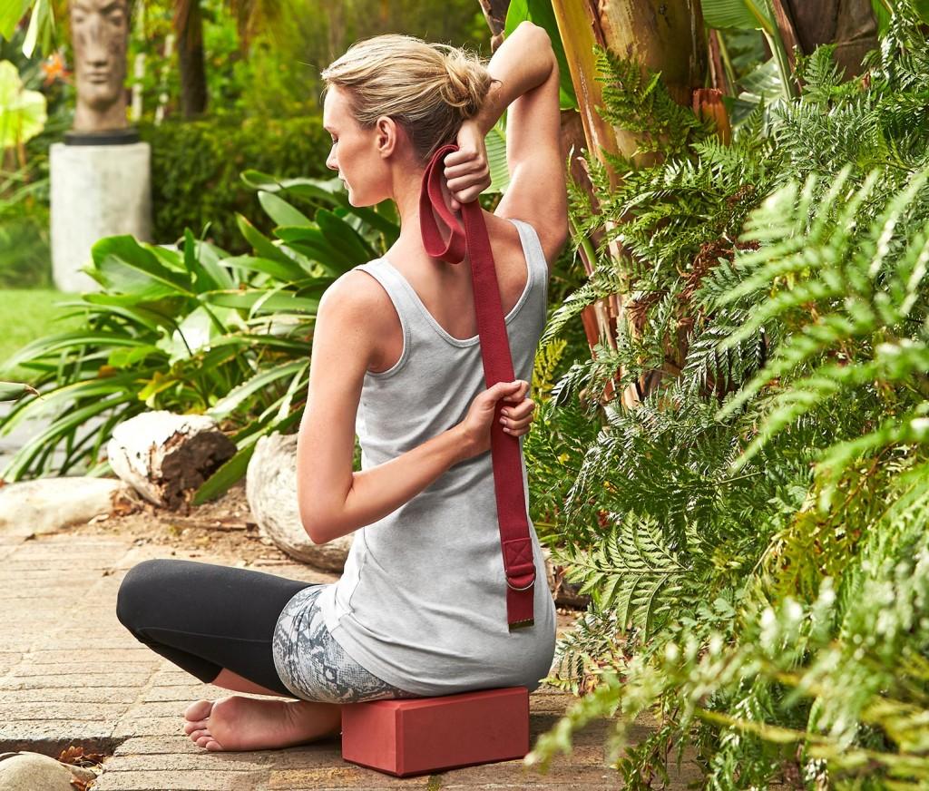 zestaw do jogi TCHIBO klocki do jogi blok do jogi pasek zestaw bloków do jogi 59,95zł