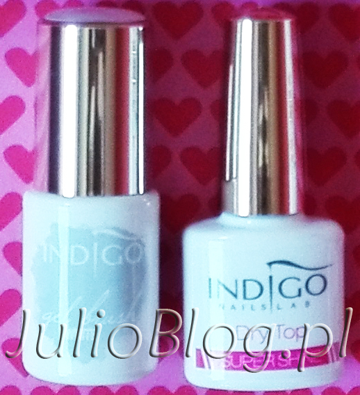 Indigo Gel Brush White i Indigo Dry Top Super Shine