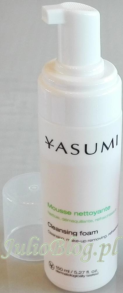 pianka-myjaca-do-codziennego-oczyszczania-demakijazu-kazdego-rodzaju-cery-cleansing-foam-yasumi-julioblog-pl-blog-julii-demakijaz-oczyszczanie-wrazliwej-skory-twarzy-recenzje-kosmetykow