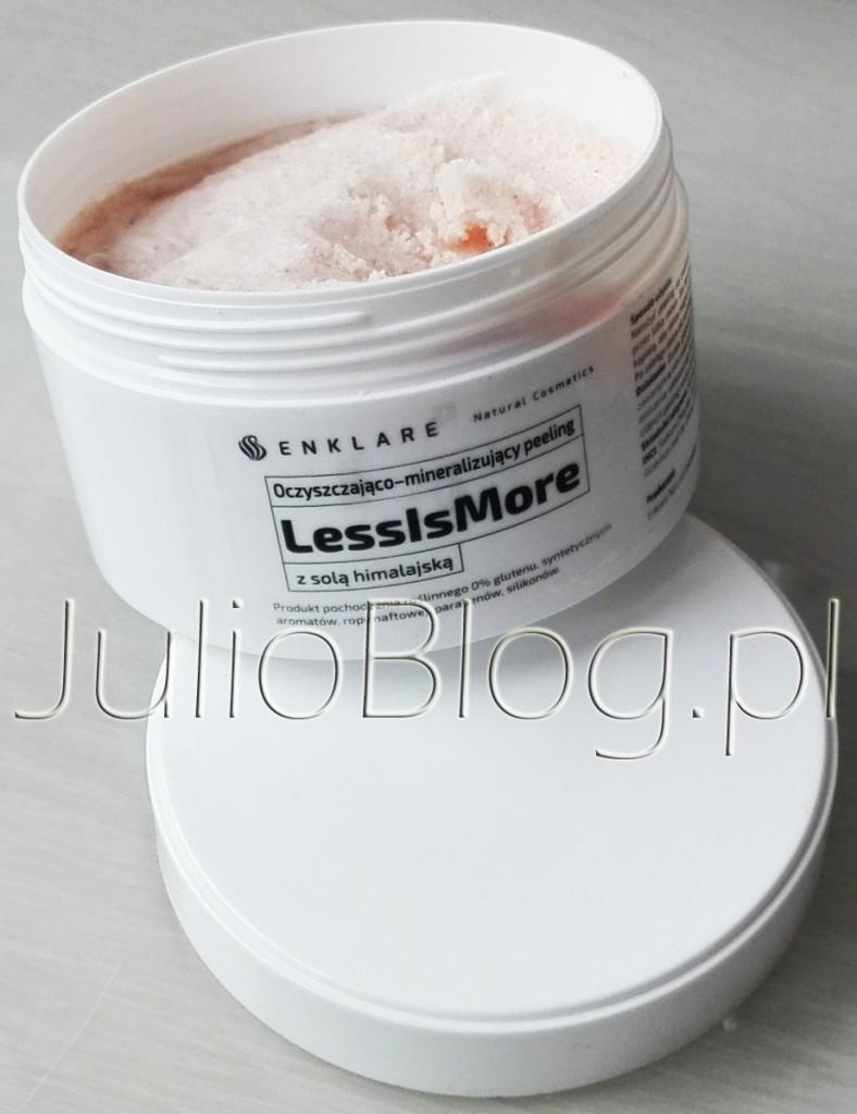 peeling-enklare-lessismore-69zl-200ml-peeling-solny-sol-himalajska-olej-kokosowy-julioblog-pl-blog-julii-naturalne-kosmetyki-polskie-naturalna-pielegnacja-enklare-natural-cosmetics