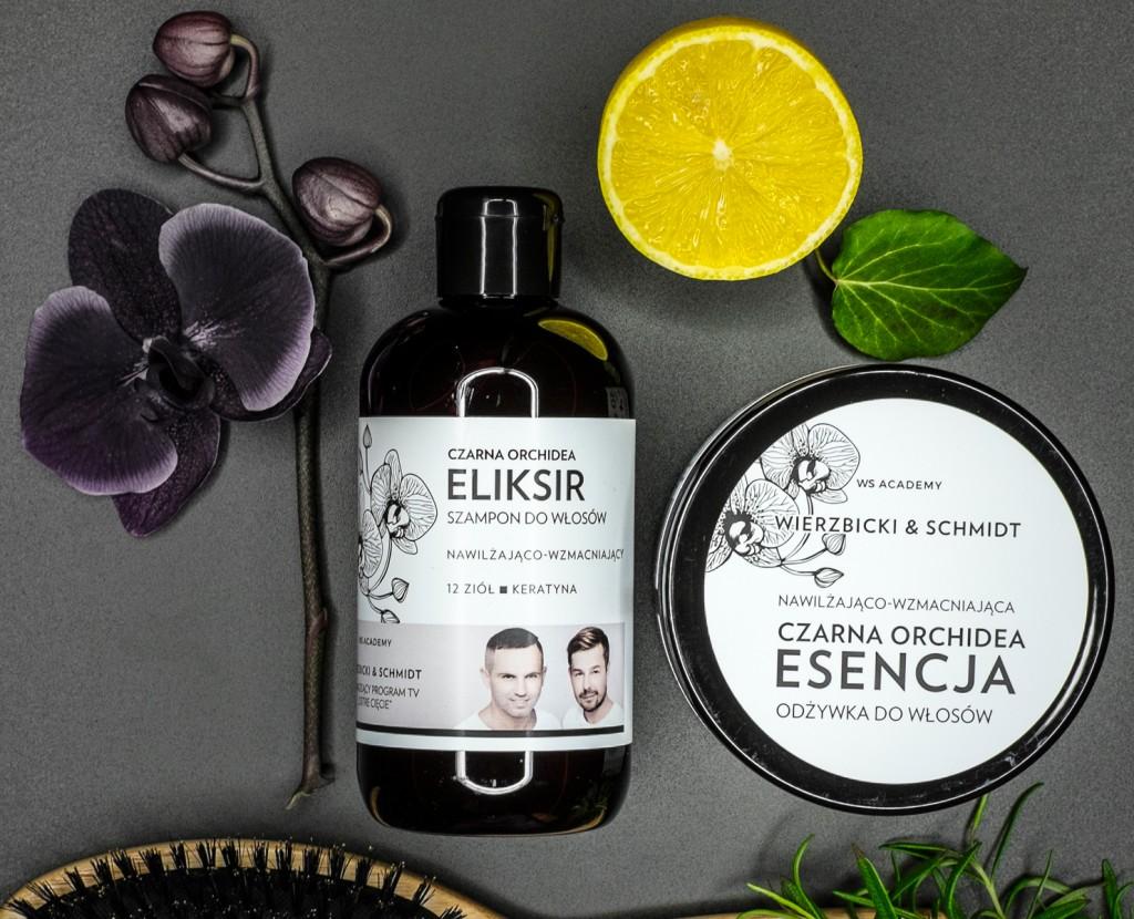 CZARNA-ORCHIDEA-WS-Acedemy-WIERZBICKI-SCHMIDT-eliksir-myjący-szampon-do-włosów-esencja-odżywcza-maska-do-włosów-maseczka-odżywka-profesjonalne-kosmetyki-do-włosów