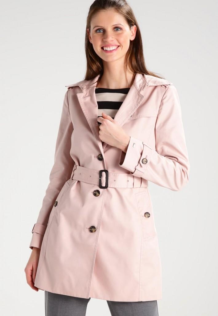 płaszcz trencz Tommy Hilfiger Prochowiec HERITAGE - Prochowiec - pink JulioBlog.pl blog Julii wiosna 2017 WIOSNAzZALANDO ZALANDOSTYLE