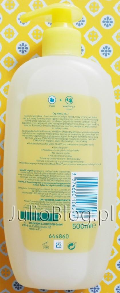 Łagodny-płyn-do-mycia-ciała-i-włosów-3w1-Johnsons-Baby-No-More-Tears-500ml-skład-składniki-INCI-dla-niemowląt-skóra-wrażliwa-dla-dzieci-JulioBlog.pl-blog-Julii-recenzje-kosmetyków