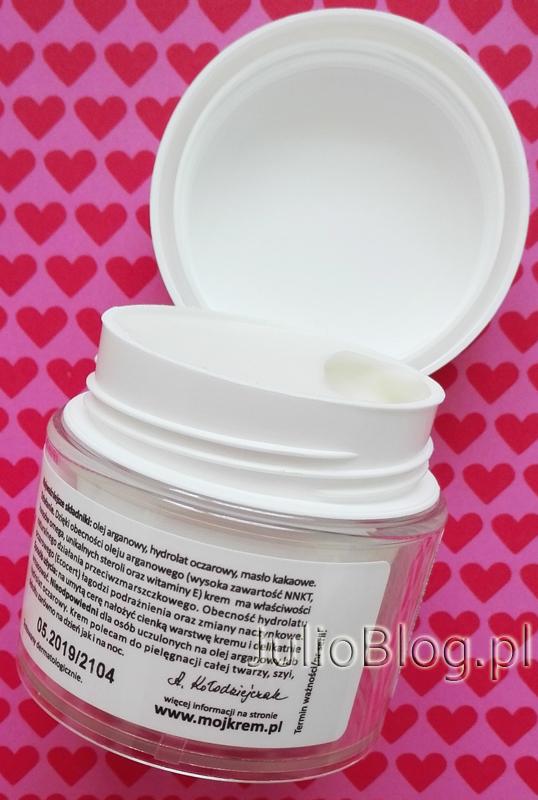 Mój-krem-No-5-arganowy-przeciwzmarszkowy-skóra-sucha-dojrzała-Fitomed-mój-krem-numer-5-dla-skóry-cery-suchej-dojrzałej-z-olejkiem-arganowym-JulioBlog.pl-blog-Julii-naturalne-kosmetyki
