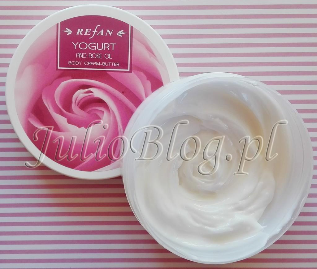 kosmetyki-z-Bułgarii-bułgarskie-kosmetyki-różane-z-rożą-z-róży-REFAN-masło-do-ciała-Yougurt-Rose-Oil-Body-Cream-Butter-Refan-Rosa-Damascen--Essential-oil-JulioBlog.pl-blog-Julii-opinie