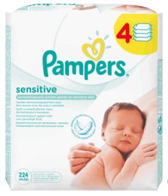Chusteczki-dla-niemowląt-Pampers-Sensitive--skład-INCI-nawilżane-chusteczki-dla-dziedzi-PAMPERS-SENSITIVE-recenzja-ocena-opinia-działanie-lista-składników-Aqua-Citric-Acid-Peg-40