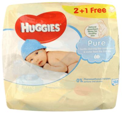 Chusteczki-nawilżane-dla-noworodków-Huggies-Pure-skład-INCI-Aqua,-Caprylyl-Glycol,-Sodium-Benzoate-Coco-Betaine-Polysorbate-20-Malic-Acid-Sodium-Citrate-nawilżane-chusteczki-niemowląt