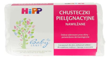 NAWILŻANE-CHUSTECZKI-PIELĘGNACYJNE-HiPP-Babysanft-skład-inci-składniki-INCI-lista-składników-HIPP-chusteczki-dla-niemowląt-dla-dzieci-Aqua,-Glycerin-Prunus-Amygdalus-Dulcis-Seed-Extract
