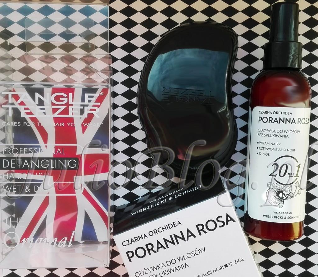tangle-teezer-original-black-szczotka-do-włosów-czarna-orchidea-poranna-rosa-ws-academy-wierzbicki-schmidt-20w1-profesjonalna-odżywka-do-włosów-bez-spłukiwania-JulioBlog.pl-blog-Julii