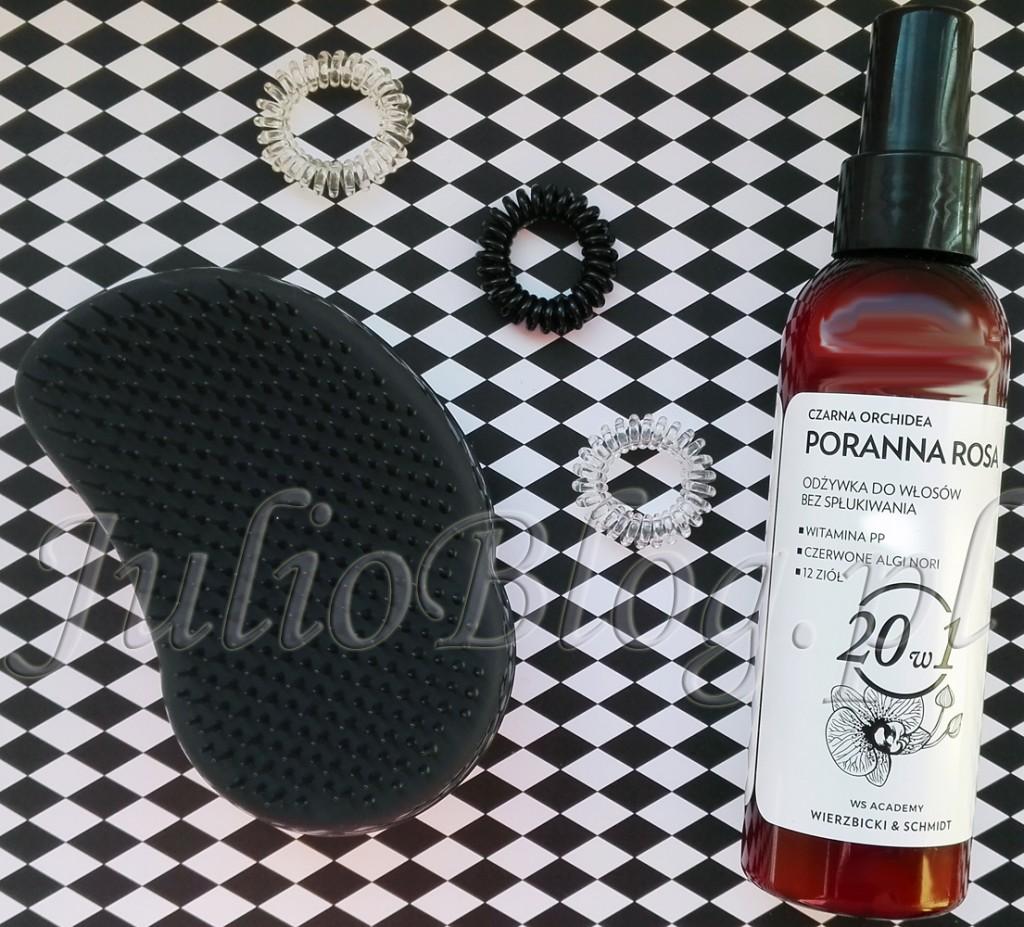 tangle-teezer-original-black-szczotka-do-włosów-czarna-orchidea-poranna-rosa-ws-academy-wierzbicki-schmidt-20w1-profesjonalna-odżywka-do-włosów-gumki-sprężynki-JulioBlog.pl-blog-Julii