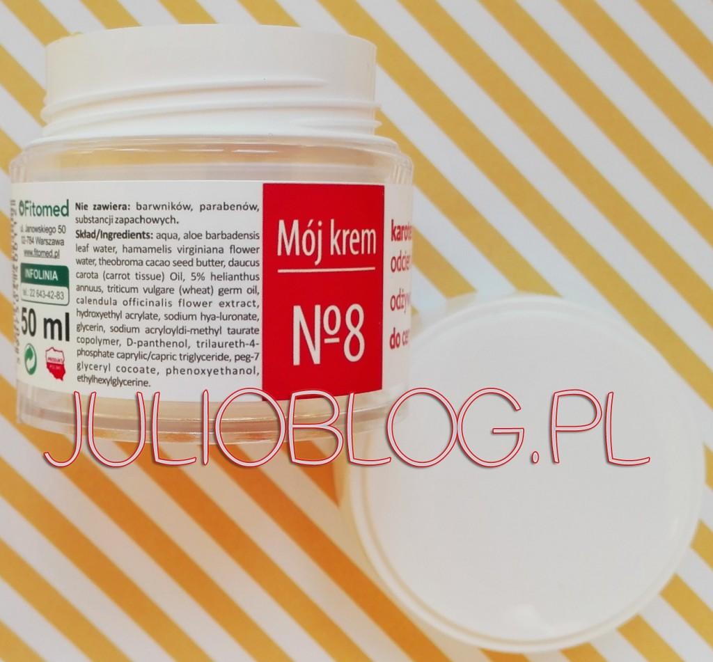 Odżywczo-regenerujący-KAROTENOWY-Mój-krem-nr-8-Fitomed-skóra-sucha-składniki-skład-INCI-olej-marchwiowy-z-kiełków-pszenicy-masło-kakaowe-napar-z-nagietka-woda-aloesowa