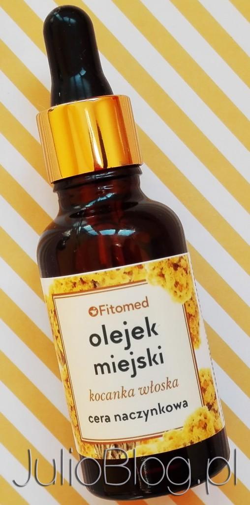 Olejek-miejski-do-cery-naczynkowej-Kocanka-włoska-ceran-naczynkowa-skóra-ochrona-przed-smogiem-promieniowaniem-UV-naturalny-filtr-olejek-do-twarzy-olej-z-pestek-malin-JulioBlog.pl-blog