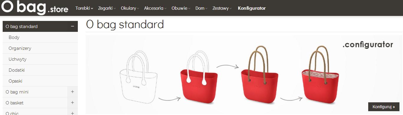 a804ea9722899 Konfigurator torebek O bag w sklepie internetowym O bag Store