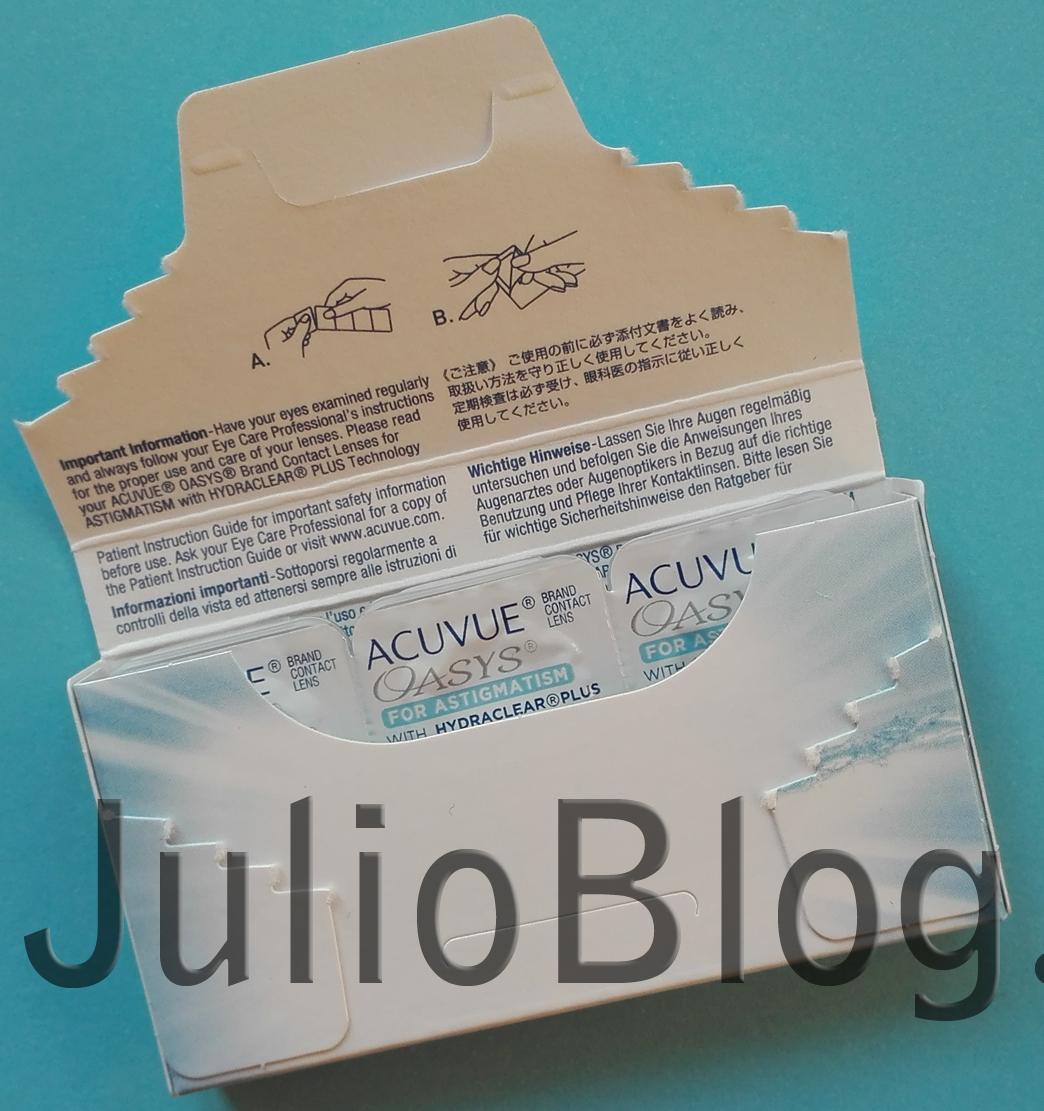 000a0bc2c2 Soczewki ACUVUE OASYS for ASTIGMATISM – moja opinia – JulioBlog.pl