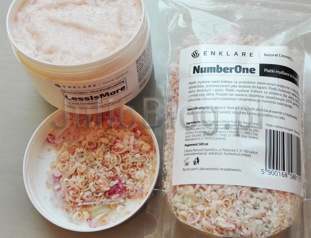 LessIsMore-NumberOne-oczyszczjający-mineralizujący-peeling-z-solą-himalajską-płatki-mydlane-do-kąpieli-naturalne-kosmetyki-kąpielowe-dla-suchej-i-wrażliwej-skóry-polskie-ENKLARE-Enklare