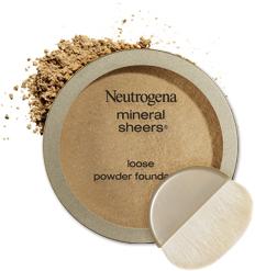 Sypki puder mineralny Neutrogena Mineral Sheers Loose Powder Foundation SPF20