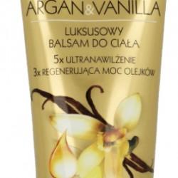 Luksusowy balsam do ciała SPA! PROFESSIONAL Argan&Vanilla Eveline Cosmetics