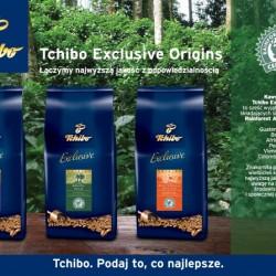 Kawy Tchibo Exclusive Origins z ziaren z plantacji Rainforest Alliance Certified™
