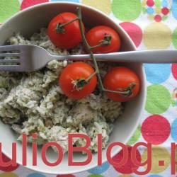 Julia gotuje: Sałatka z kurczaka z rodzynkami