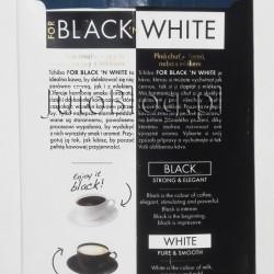Kawa Tchibo FOR BLACK ´N WHITE dobra i… tania. Przy okazji ostatnich zakupów w sklepie Tchibo skusiłam się na nową kawę Tchibo FOR BLACK ´N WHITE. Charakteryzuje ją trzykrotnie dłuższy od standardowego sposób wypalania ziaren, dzięki czemu kawa smakuje doskonale z mlekiem. A ponieważ jest to jedyna wersja kawy jaką piję – musiałam wypróbować. Opakowanie mielonej kawy (250g) na którą się zdecydowałam z myślą o parzeniu w ekspresie ciśnieniowym kosztowało 9,95zł. Kawa mielona Tchibo FOR BLACK ´N WHITE. Kompozycja Arabiki i Robusty. Rozkoszuj się smakiem kawy TCHIBO FOR BLACK ´N WHITE parzonej w postaci mocnej czarnej kawy lub łagodnej, z mlekiem. Kawa ta jest kompozycją wyśmienitych ziaren pochodzących z najlepszej jakości upraw. Staranny proces powolnego, uszlachetniającego palenia wydobywa z ziaren harmonijny aromat i przyjemny smak, które sprawiają, że kawa nadaje się idealnie, by delektować się nią w postaci czystej czarnej kawy lub by złagodzić jej smak, dodając mleka. Tylko najlepsze ziarna kawy poddawane są starannemu procesowi długiego palenia. Dopiero ten specjalny proces wypalania ziaren kawy przez Tchibo pozwala wydobyć pełny aromat kawy o wyrazistej nucie i wybornym smaku. Zaparz swoją ulubioną kawę i delektuj się chwilą przyjemności. Kawa mielona Tchibo FOR BLACK ´N WHITE. Kompozycja Arabiki i Robusty. 250g/9,95zł. Część ziaren dla Tchibo FOR BLACK `N WHITE jest palona jaśniej, druga część ciemniej. Jaśniej palone ziarna nadają nowej kawie Tchibo łagodną nutę, ciemniej palone – dbają o mocny aromat. Dopiero po osobnym wypalaniu ziarna te są łączone. Ten unikalny proces produkcji istnieje jedynie w Tchibo. Jego efektem jest łagodna kawa pozbawiona kwaskowatości, która wciąż pozostaje mocna i posiada pełnię smaku. W taki sposób kawa FOR BLACK 'N WHITE otrzymuje swój łagodny i zarazem mocny aromat, zachowując pełny charakter również wtedy, gdy dodamy do niej mleko. 250g, 9.95zł, Arabika, ekspres ciśnieniowy, kawa, kawa Arabika, kawa biała, kawa mielona, kawa