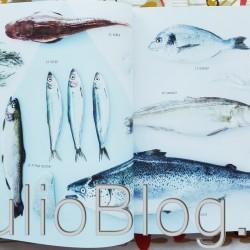 """""""Przepisy Karola i Doroty na ryby i owoce morza. Ryby są super"""" to 80 przepisów autorstwa Doroty Wellman i Karola Okrasy wydanych przez Lidl. Ryby są super! """"Przepisy Karola i Doroty na ryby i owoce morza. Ryby są super"""" – spis treści: 1. Rybne ABC. 2. Ryby w Lidlu. 3. Ryby w praktyce. 4. Ryba od kuchni. 5. Przystawki 6. Zupy 7. Dania główne 8. Święta 9. Grill 10. Owoce morza. Moim zdaniem cała książka Przepisy Karola i Doroty na ryby i owoce morza. Ryby są super"""" – chociaż gęsto wypełniona autoreklamą Lidla – jest w mojej ocenie bardzo fajna :) rzepisy Karola i Doroty na ryby i owoce morza. Ryby są super"""" – książka z serii Kuchnia Lidla 2015"""